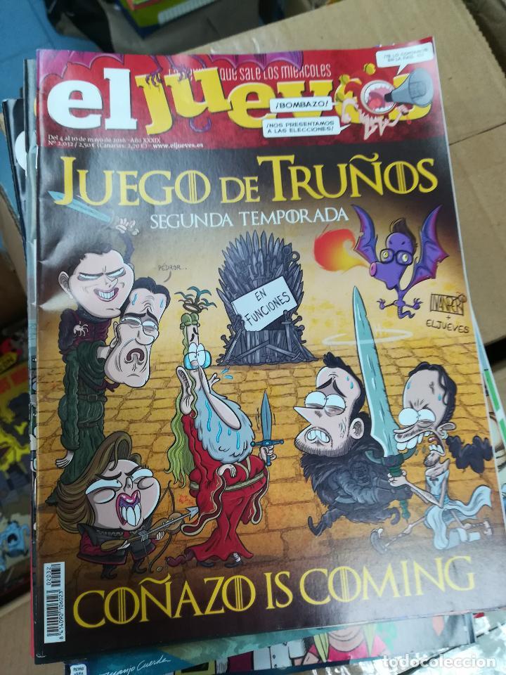 Tebeos: EL JUEVES - CASI 40 AÑOS DE LA REVISTA - 2022 NUMEROS (DEL 1 A 2059 - FALTAN 37 INTERCALADOS) - Foto 11 - 103441187