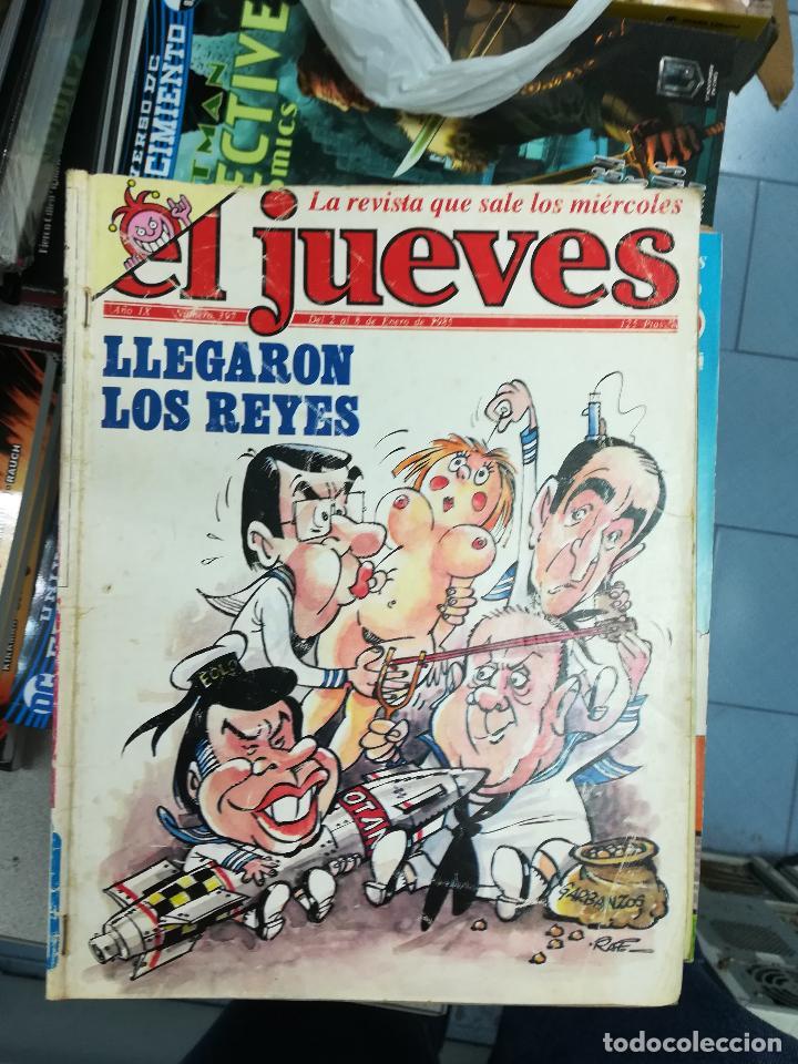 Tebeos: EL JUEVES - CASI 40 AÑOS DE LA REVISTA - 2022 NUMEROS (DEL 1 A 2059 - FALTAN 37 INTERCALADOS) - Foto 18 - 103441187