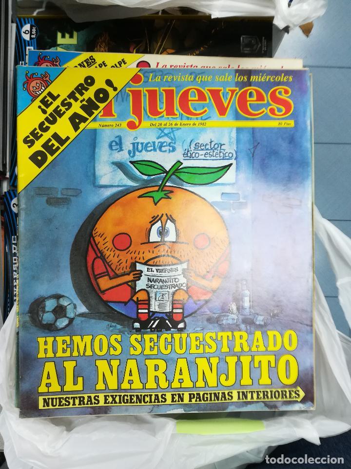 Tebeos: EL JUEVES - CASI 40 AÑOS DE LA REVISTA - 2022 NUMEROS (DEL 1 A 2059 - FALTAN 37 INTERCALADOS) - Foto 19 - 103441187
