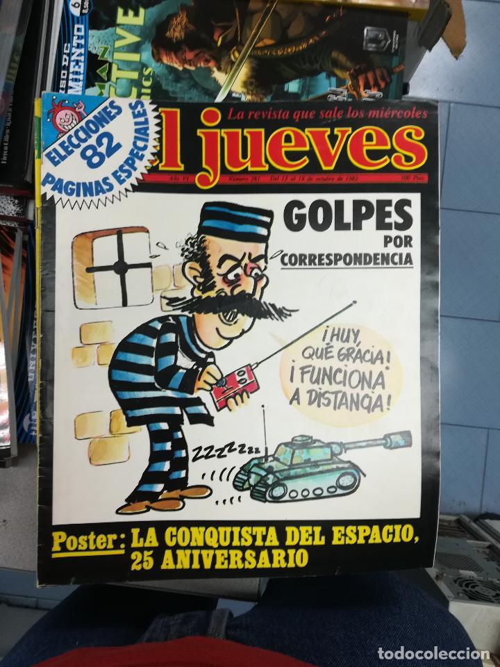 Tebeos: EL JUEVES - CASI 40 AÑOS DE LA REVISTA - 2022 NUMEROS (DEL 1 A 2059 - FALTAN 37 INTERCALADOS) - Foto 20 - 103441187