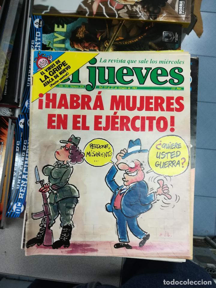 Tebeos: EL JUEVES - CASI 40 AÑOS DE LA REVISTA - 2022 NUMEROS (DEL 1 A 2059 - FALTAN 37 INTERCALADOS) - Foto 21 - 103441187