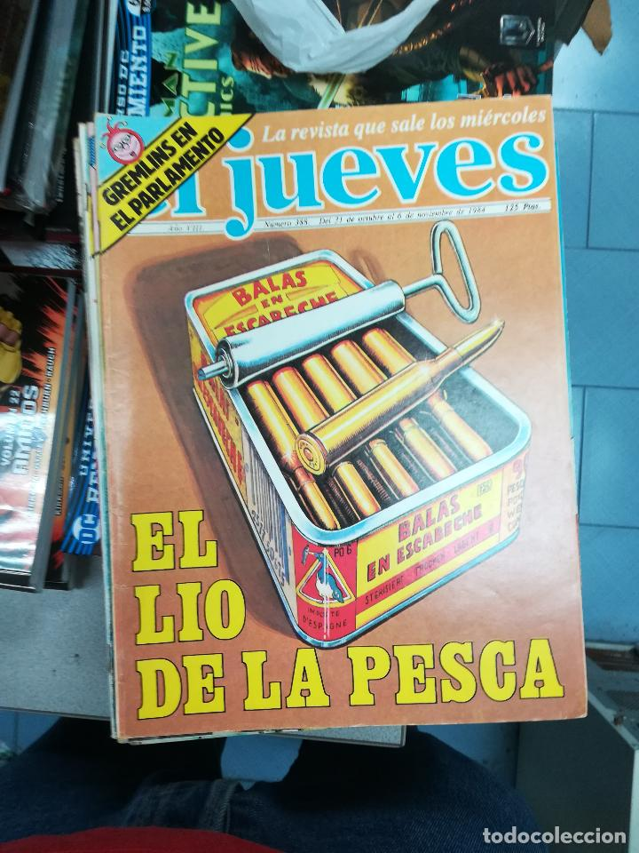 Tebeos: EL JUEVES - CASI 40 AÑOS DE LA REVISTA - 2022 NUMEROS (DEL 1 A 2059 - FALTAN 37 INTERCALADOS) - Foto 22 - 103441187