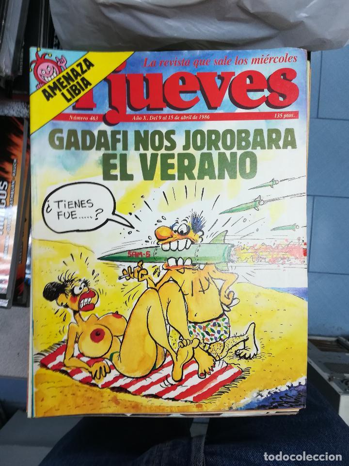 Tebeos: EL JUEVES - CASI 40 AÑOS DE LA REVISTA - 2022 NUMEROS (DEL 1 A 2059 - FALTAN 37 INTERCALADOS) - Foto 23 - 103441187