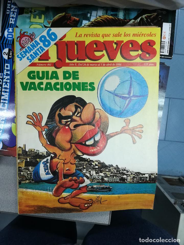 Tebeos: EL JUEVES - CASI 40 AÑOS DE LA REVISTA - 2022 NUMEROS (DEL 1 A 2059 - FALTAN 37 INTERCALADOS) - Foto 24 - 103441187