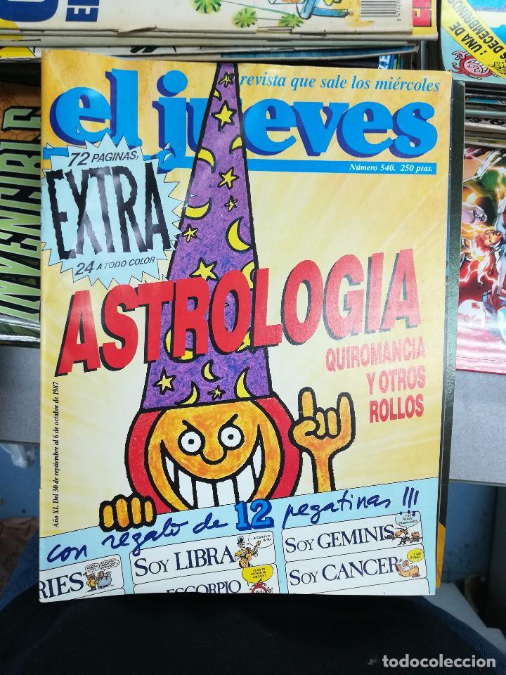 Tebeos: EL JUEVES - CASI 40 AÑOS DE LA REVISTA - 2022 NUMEROS (DEL 1 A 2059 - FALTAN 37 INTERCALADOS) - Foto 25 - 103441187