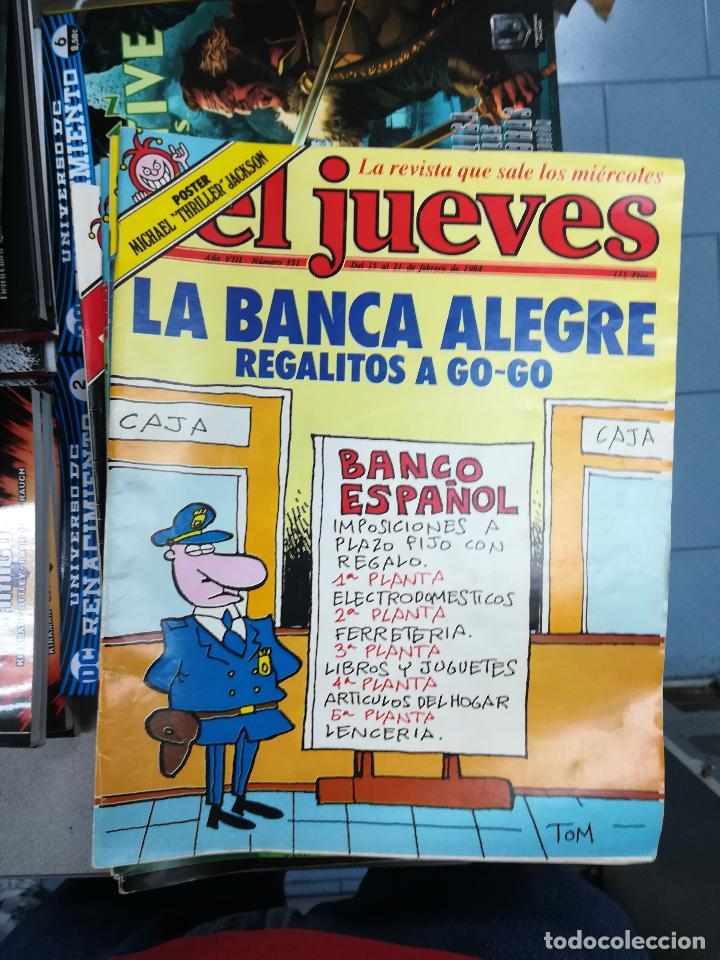 Tebeos: EL JUEVES - CASI 40 AÑOS DE LA REVISTA - 2022 NUMEROS (DEL 1 A 2059 - FALTAN 37 INTERCALADOS) - Foto 27 - 103441187