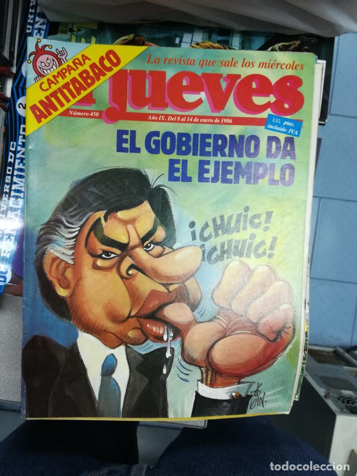 Tebeos: EL JUEVES - CASI 40 AÑOS DE LA REVISTA - 2022 NUMEROS (DEL 1 A 2059 - FALTAN 37 INTERCALADOS) - Foto 28 - 103441187