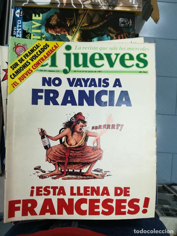 Tebeos: EL JUEVES - CASI 40 AÑOS DE LA REVISTA - 2022 NUMEROS (DEL 1 A 2059 - FALTAN 37 INTERCALADOS) - Foto 29 - 103441187