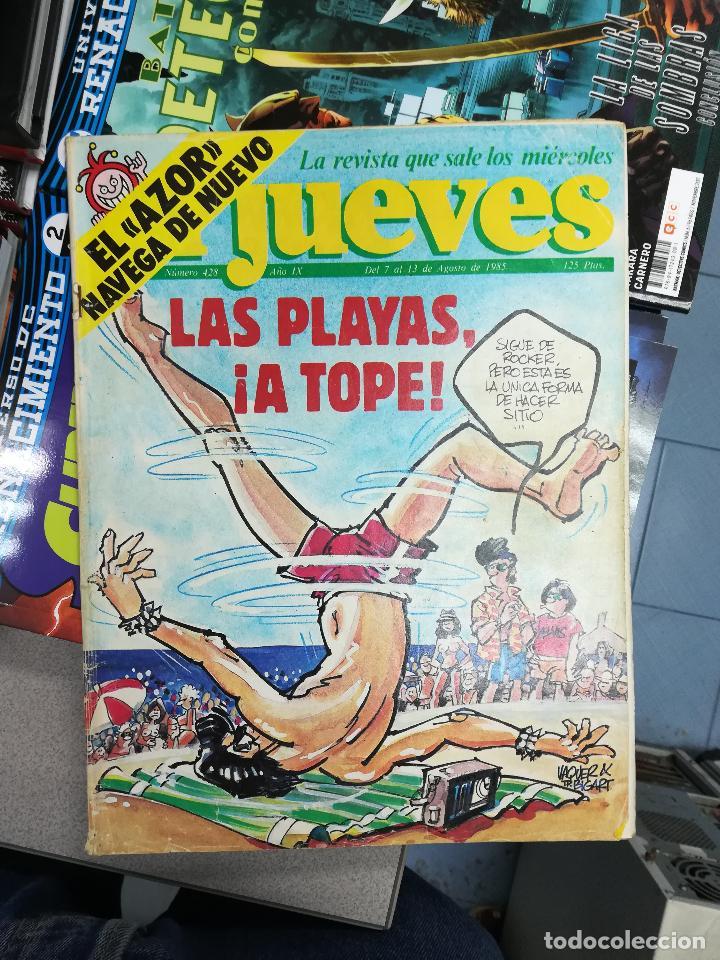 Tebeos: EL JUEVES - CASI 40 AÑOS DE LA REVISTA - 2022 NUMEROS (DEL 1 A 2059 - FALTAN 37 INTERCALADOS) - Foto 30 - 103441187