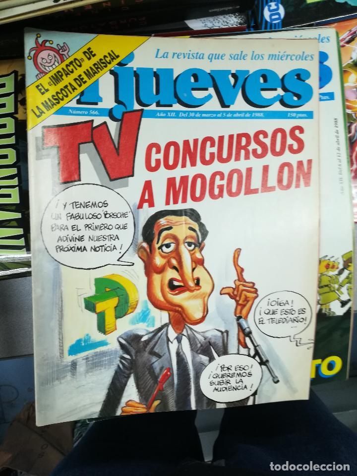 Tebeos: EL JUEVES - CASI 40 AÑOS DE LA REVISTA - 2022 NUMEROS (DEL 1 A 2059 - FALTAN 37 INTERCALADOS) - Foto 31 - 103441187