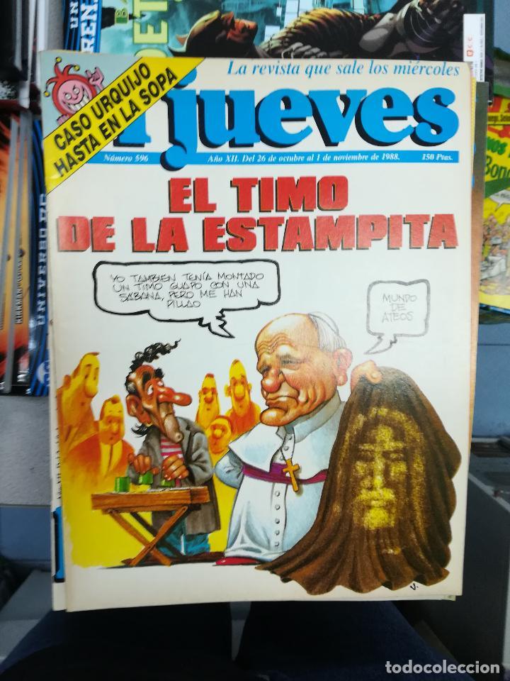 Tebeos: EL JUEVES - CASI 40 AÑOS DE LA REVISTA - 2022 NUMEROS (DEL 1 A 2059 - FALTAN 37 INTERCALADOS) - Foto 34 - 103441187