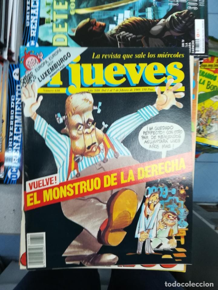 Tebeos: EL JUEVES - CASI 40 AÑOS DE LA REVISTA - 2022 NUMEROS (DEL 1 A 2059 - FALTAN 37 INTERCALADOS) - Foto 35 - 103441187