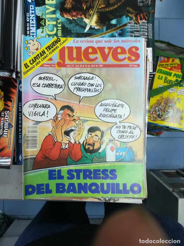 Tebeos: EL JUEVES - CASI 40 AÑOS DE LA REVISTA - 2022 NUMEROS (DEL 1 A 2059 - FALTAN 37 INTERCALADOS) - Foto 36 - 103441187