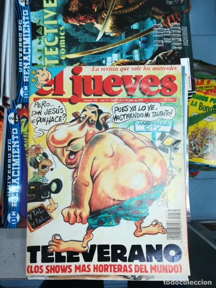 Tebeos: EL JUEVES - CASI 40 AÑOS DE LA REVISTA - 2022 NUMEROS (DEL 1 A 2059 - FALTAN 37 INTERCALADOS) - Foto 37 - 103441187