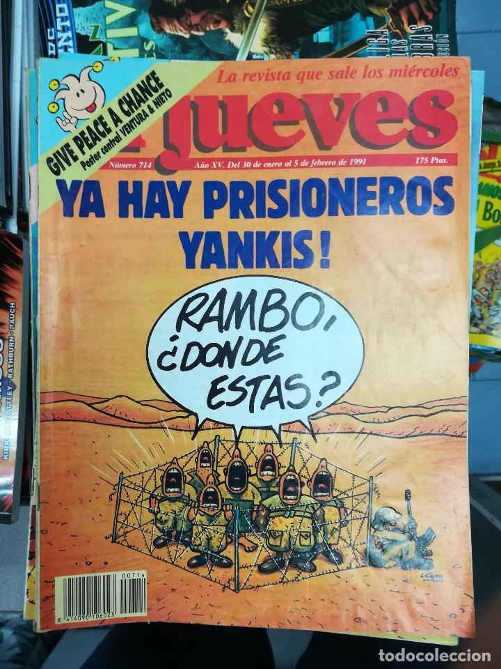 Tebeos: EL JUEVES - CASI 40 AÑOS DE LA REVISTA - 2022 NUMEROS (DEL 1 A 2059 - FALTAN 37 INTERCALADOS) - Foto 38 - 103441187