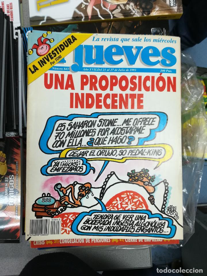 Tebeos: EL JUEVES - CASI 40 AÑOS DE LA REVISTA - 2022 NUMEROS (DEL 1 A 2059 - FALTAN 37 INTERCALADOS) - Foto 39 - 103441187