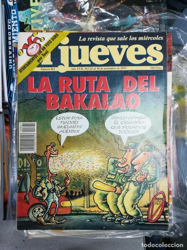 Tebeos: EL JUEVES - CASI 40 AÑOS DE LA REVISTA - 2022 NUMEROS (DEL 1 A 2059 - FALTAN 37 INTERCALADOS) - Foto 40 - 103441187