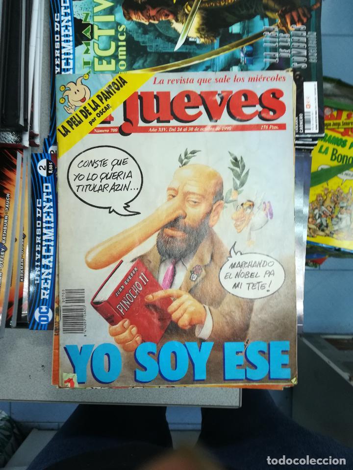 Tebeos: EL JUEVES - CASI 40 AÑOS DE LA REVISTA - 2022 NUMEROS (DEL 1 A 2059 - FALTAN 37 INTERCALADOS) - Foto 41 - 103441187