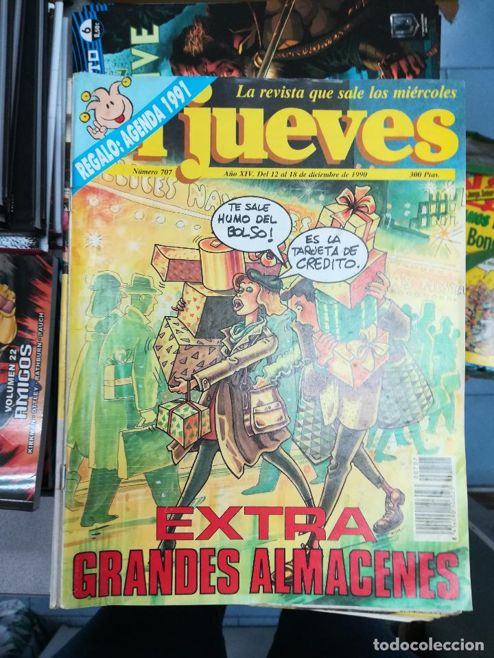 Tebeos: EL JUEVES - CASI 40 AÑOS DE LA REVISTA - 2022 NUMEROS (DEL 1 A 2059 - FALTAN 37 INTERCALADOS) - Foto 42 - 103441187
