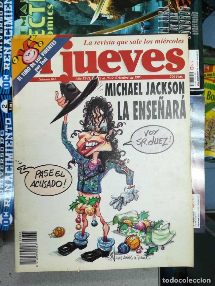 Tebeos: EL JUEVES - CASI 40 AÑOS DE LA REVISTA - 2022 NUMEROS (DEL 1 A 2059 - FALTAN 37 INTERCALADOS) - Foto 46 - 103441187