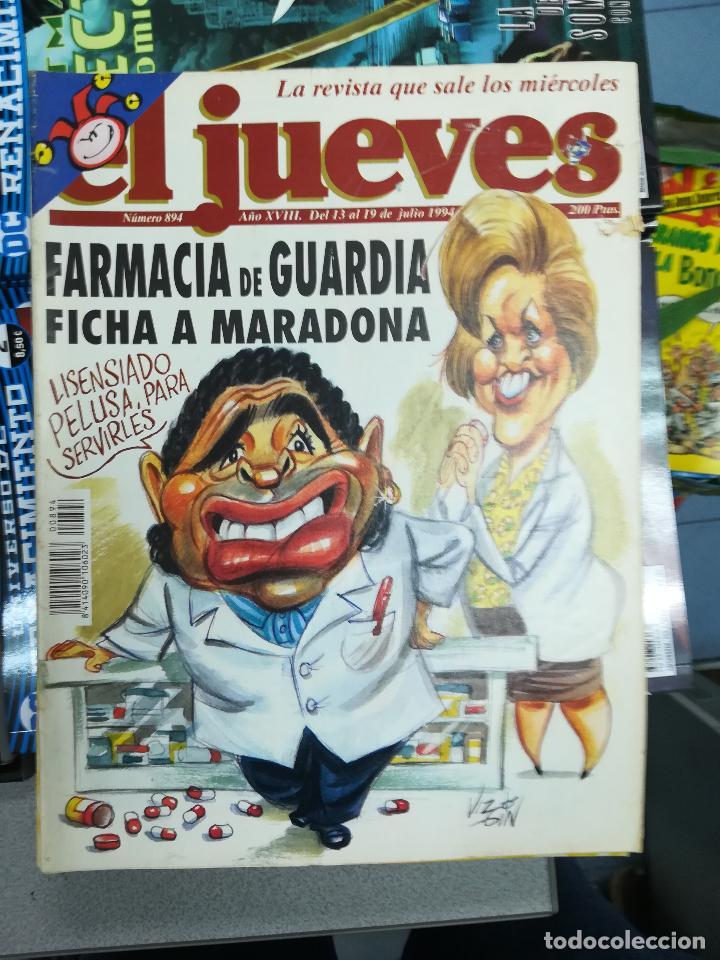 Tebeos: EL JUEVES - CASI 40 AÑOS DE LA REVISTA - 2022 NUMEROS (DEL 1 A 2059 - FALTAN 37 INTERCALADOS) - Foto 49 - 103441187