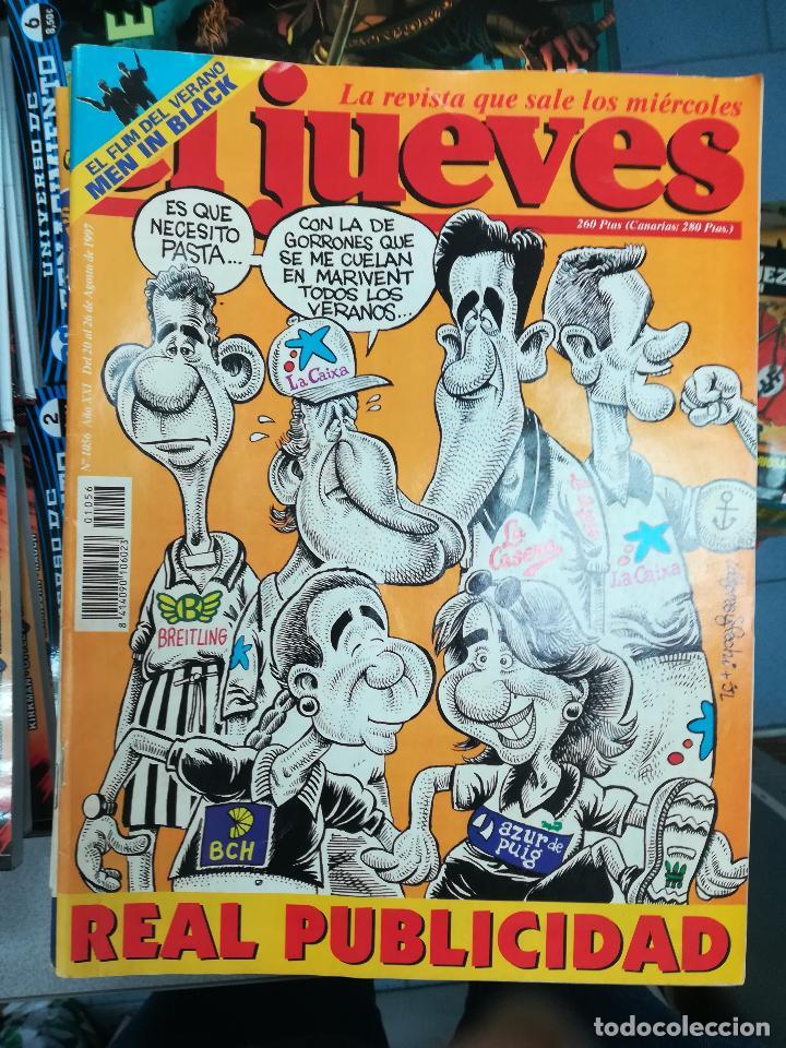Tebeos: EL JUEVES - CASI 40 AÑOS DE LA REVISTA - 2022 NUMEROS (DEL 1 A 2059 - FALTAN 37 INTERCALADOS) - Foto 50 - 103441187