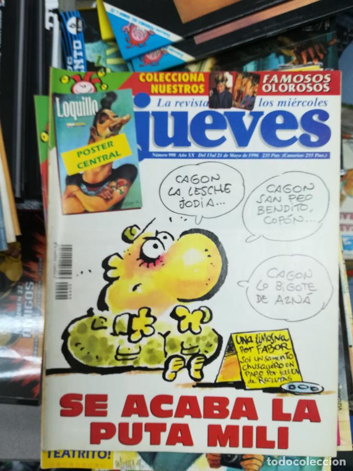 Tebeos: EL JUEVES - CASI 40 AÑOS DE LA REVISTA - 2022 NUMEROS (DEL 1 A 2059 - FALTAN 37 INTERCALADOS) - Foto 52 - 103441187