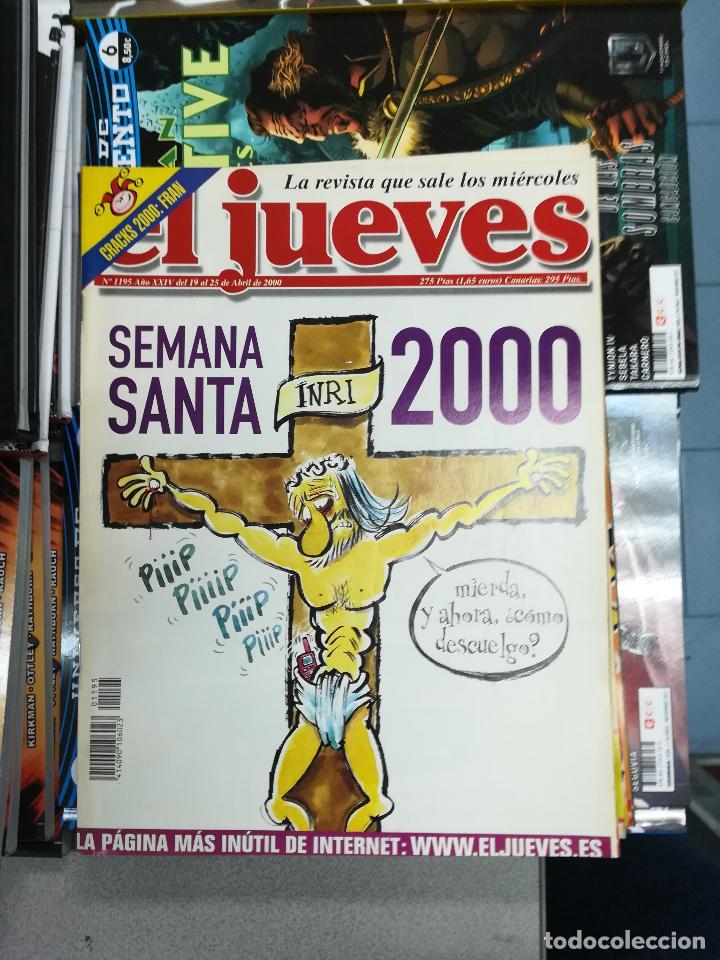 Tebeos: EL JUEVES - CASI 40 AÑOS DE LA REVISTA - 2022 NUMEROS (DEL 1 A 2059 - FALTAN 37 INTERCALADOS) - Foto 60 - 103441187