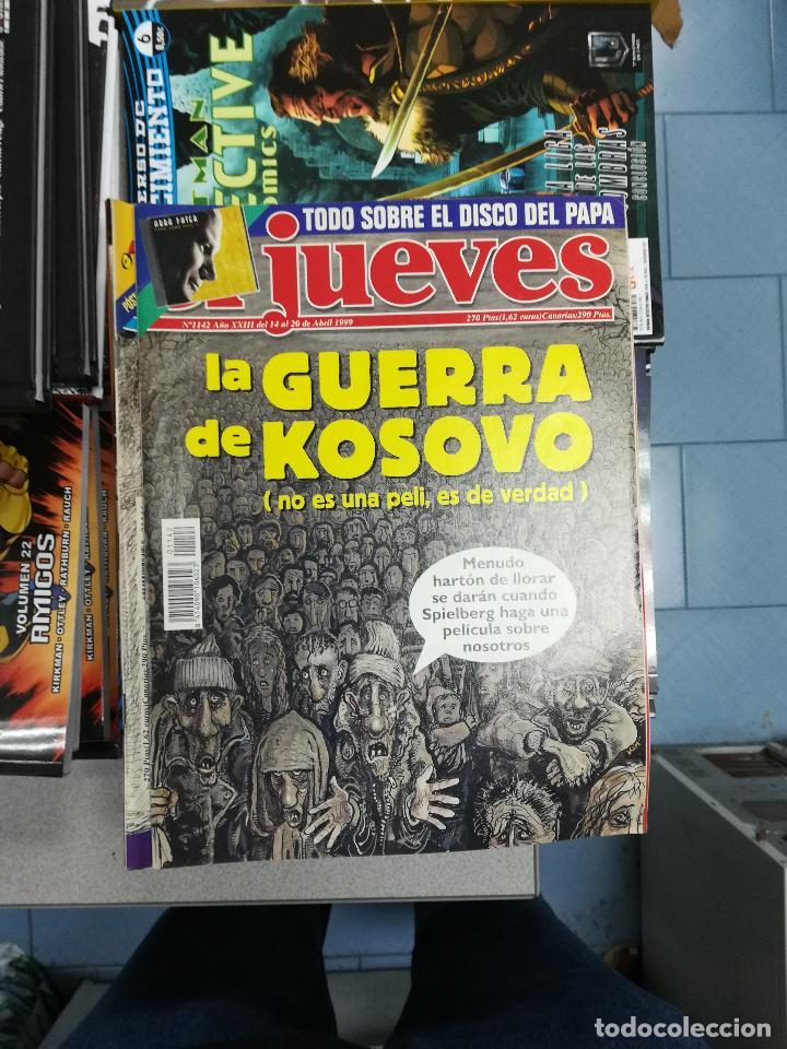 Tebeos: EL JUEVES - CASI 40 AÑOS DE LA REVISTA - 2022 NUMEROS (DEL 1 A 2059 - FALTAN 37 INTERCALADOS) - Foto 61 - 103441187
