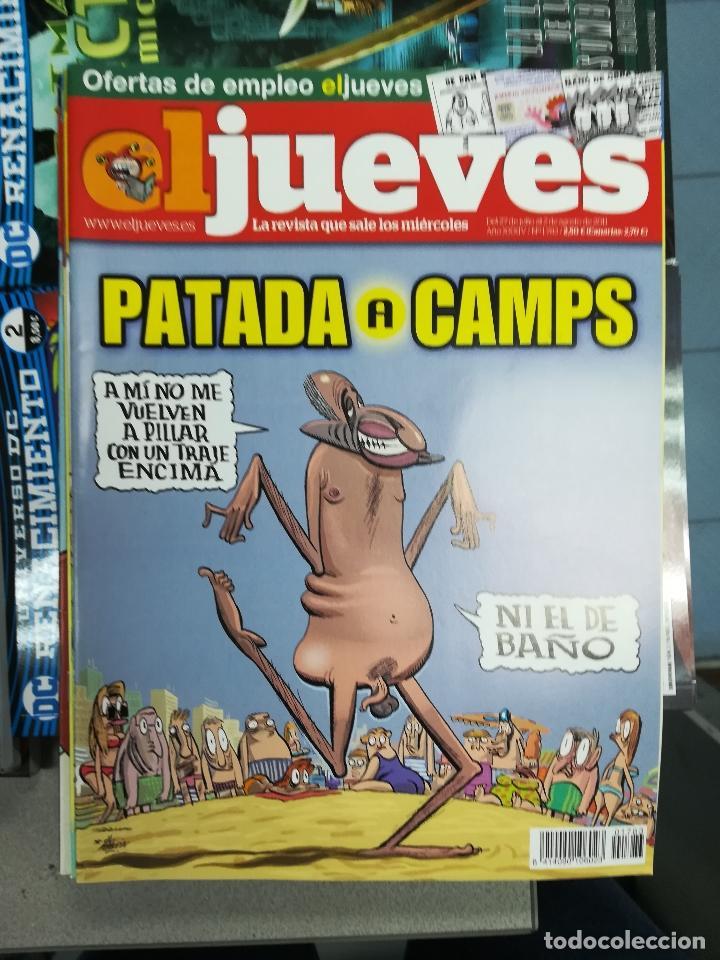Tebeos: EL JUEVES - CASI 40 AÑOS DE LA REVISTA - 2022 NUMEROS (DEL 1 A 2059 - FALTAN 37 INTERCALADOS) - Foto 67 - 103441187