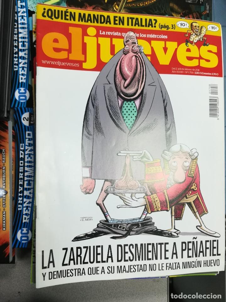 Tebeos: EL JUEVES - CASI 40 AÑOS DE LA REVISTA - 2022 NUMEROS (DEL 1 A 2059 - FALTAN 37 INTERCALADOS) - Foto 68 - 103441187