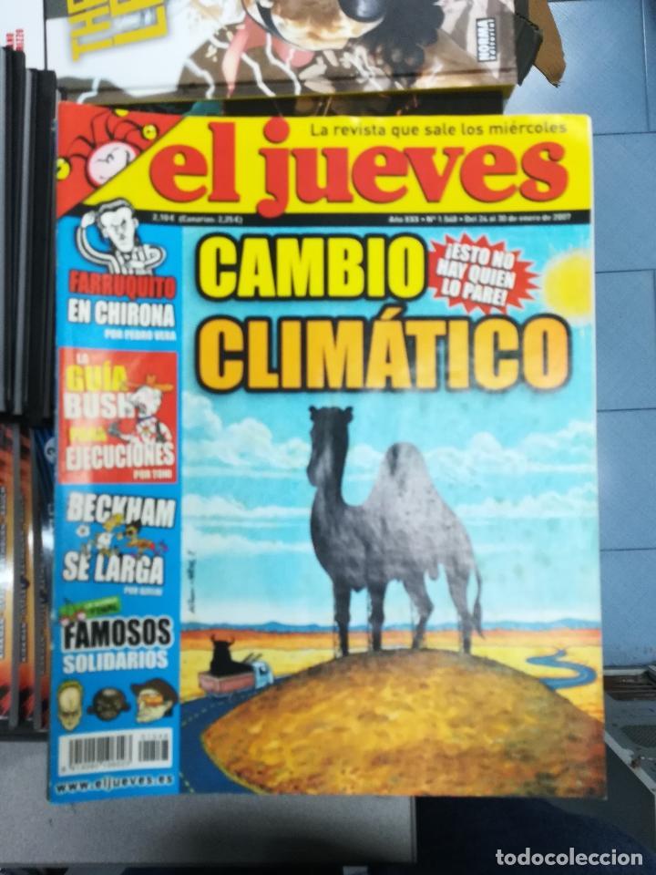 Tebeos: EL JUEVES - CASI 40 AÑOS DE LA REVISTA - 2022 NUMEROS (DEL 1 A 2059 - FALTAN 37 INTERCALADOS) - Foto 70 - 103441187