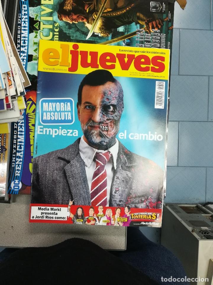 Tebeos: EL JUEVES - CASI 40 AÑOS DE LA REVISTA - 2022 NUMEROS (DEL 1 A 2059 - FALTAN 37 INTERCALADOS) - Foto 71 - 103441187