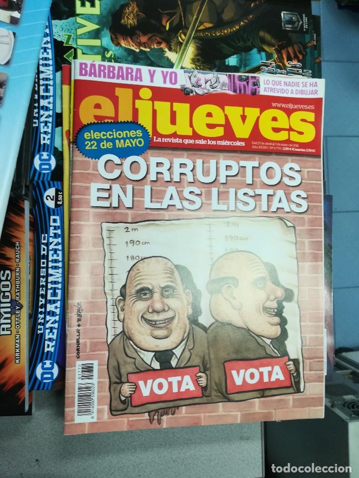 Tebeos: EL JUEVES - CASI 40 AÑOS DE LA REVISTA - 2022 NUMEROS (DEL 1 A 2059 - FALTAN 37 INTERCALADOS) - Foto 72 - 103441187