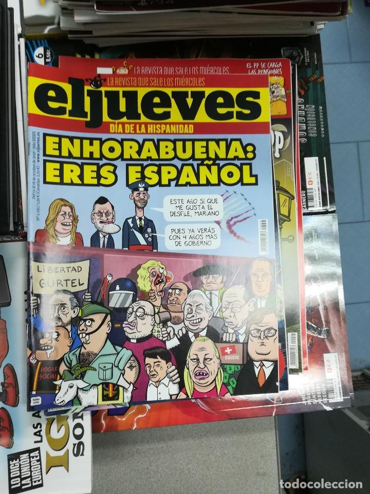 Tebeos: EL JUEVES - CASI 40 AÑOS DE LA REVISTA - 2022 NUMEROS (DEL 1 A 2059 - FALTAN 37 INTERCALADOS) - Foto 73 - 103441187