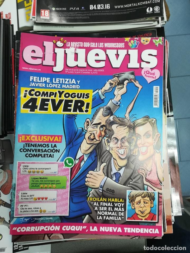 Tebeos: EL JUEVES - CASI 40 AÑOS DE LA REVISTA - 2022 NUMEROS (DEL 1 A 2059 - FALTAN 37 INTERCALADOS) - Foto 75 - 103441187