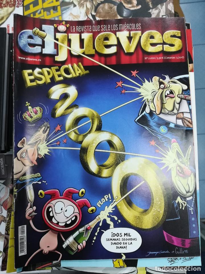Tebeos: EL JUEVES - CASI 40 AÑOS DE LA REVISTA - 2022 NUMEROS (DEL 1 A 2059 - FALTAN 37 INTERCALADOS) - Foto 76 - 103441187