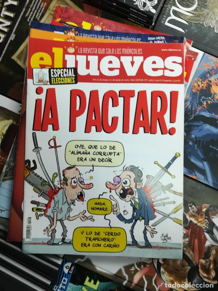 Tebeos: EL JUEVES - CASI 40 AÑOS DE LA REVISTA - 2022 NUMEROS (DEL 1 A 2059 - FALTAN 37 INTERCALADOS) - Foto 77 - 103441187