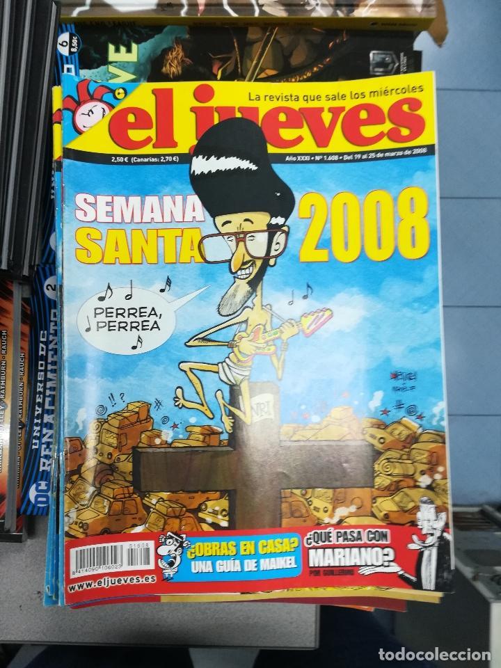 Tebeos: EL JUEVES - CASI 40 AÑOS DE LA REVISTA - 2022 NUMEROS (DEL 1 A 2059 - FALTAN 37 INTERCALADOS) - Foto 78 - 103441187