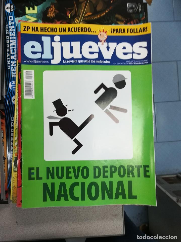 Tebeos: EL JUEVES - CASI 40 AÑOS DE LA REVISTA - 2022 NUMEROS (DEL 1 A 2059 - FALTAN 37 INTERCALADOS) - Foto 79 - 103441187
