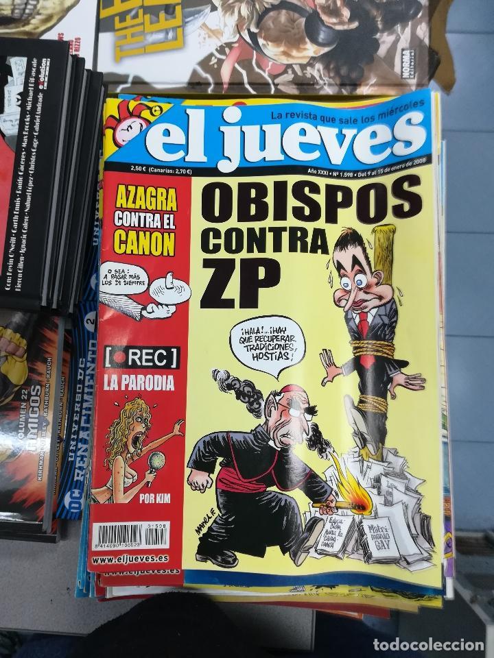 Tebeos: EL JUEVES - CASI 40 AÑOS DE LA REVISTA - 2022 NUMEROS (DEL 1 A 2059 - FALTAN 37 INTERCALADOS) - Foto 80 - 103441187