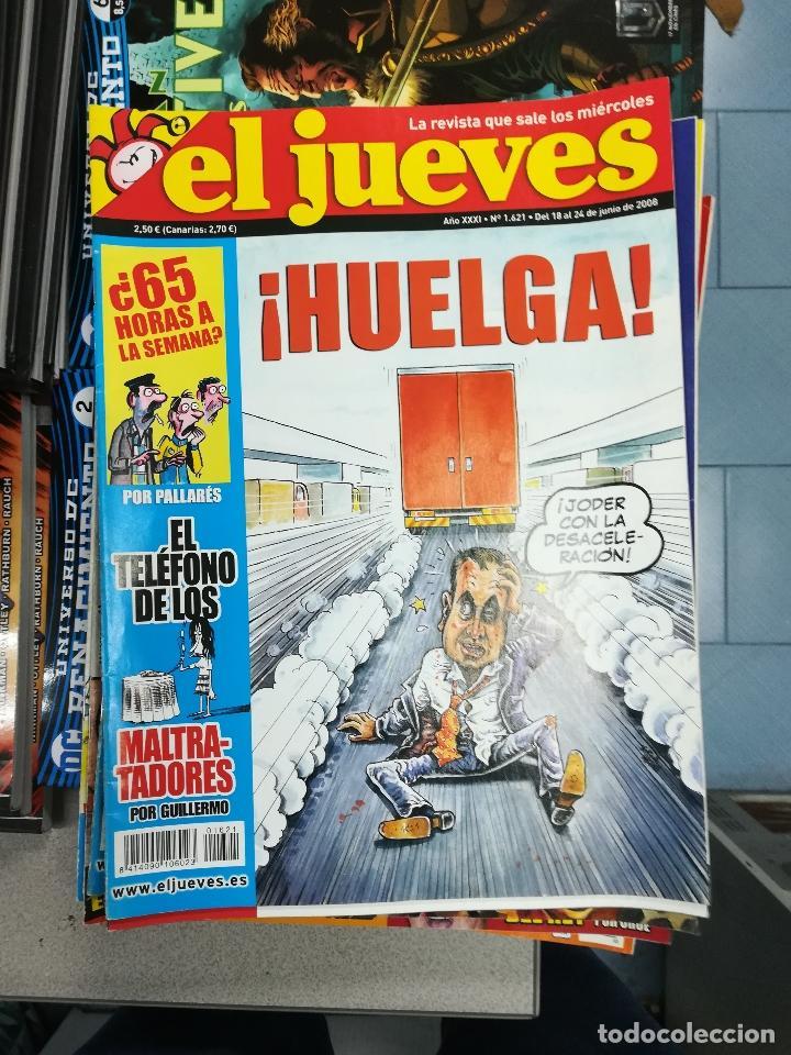 Tebeos: EL JUEVES - CASI 40 AÑOS DE LA REVISTA - 2022 NUMEROS (DEL 1 A 2059 - FALTAN 37 INTERCALADOS) - Foto 81 - 103441187