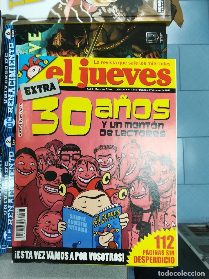 Tebeos: EL JUEVES - CASI 40 AÑOS DE LA REVISTA - 2022 NUMEROS (DEL 1 A 2059 - FALTAN 37 INTERCALADOS) - Foto 82 - 103441187