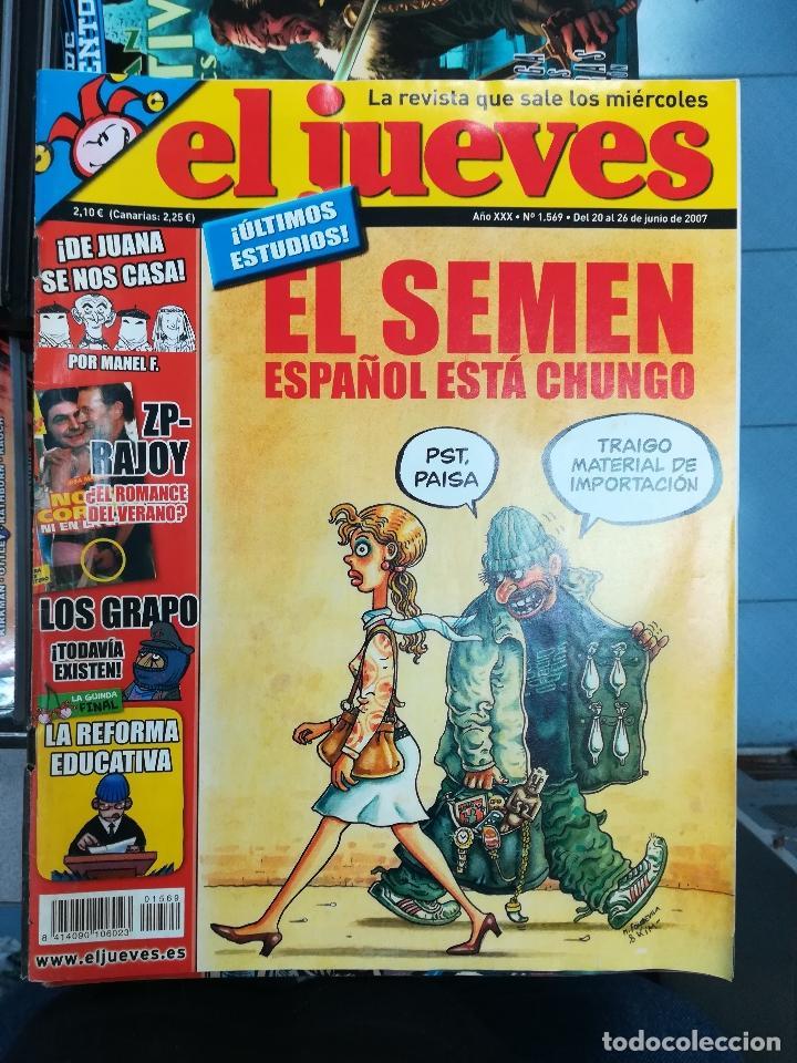Tebeos: EL JUEVES - CASI 40 AÑOS DE LA REVISTA - 2022 NUMEROS (DEL 1 A 2059 - FALTAN 37 INTERCALADOS) - Foto 83 - 103441187