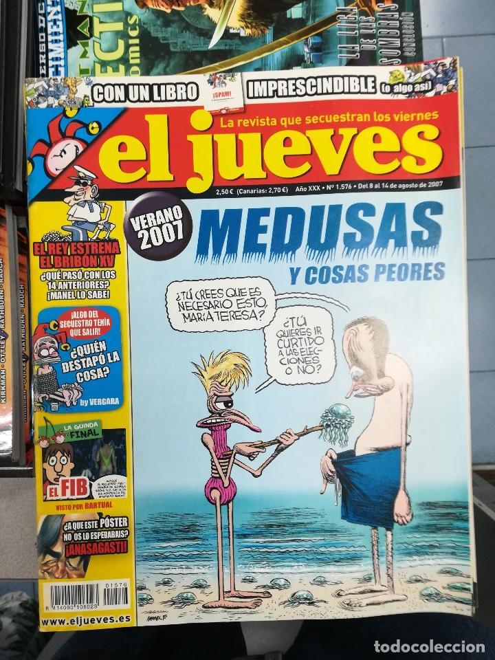 Tebeos: EL JUEVES - CASI 40 AÑOS DE LA REVISTA - 2022 NUMEROS (DEL 1 A 2059 - FALTAN 37 INTERCALADOS) - Foto 84 - 103441187