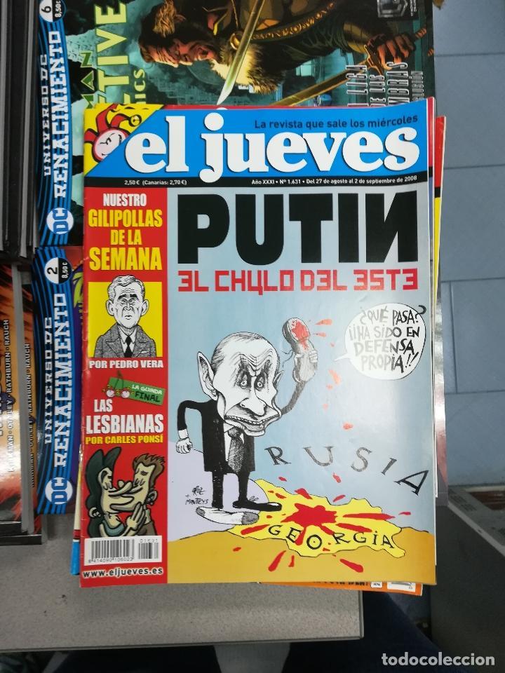 Tebeos: EL JUEVES - CASI 40 AÑOS DE LA REVISTA - 2022 NUMEROS (DEL 1 A 2059 - FALTAN 37 INTERCALADOS) - Foto 85 - 103441187