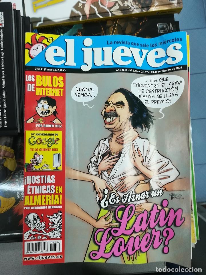 Tebeos: EL JUEVES - CASI 40 AÑOS DE LA REVISTA - 2022 NUMEROS (DEL 1 A 2059 - FALTAN 37 INTERCALADOS) - Foto 86 - 103441187