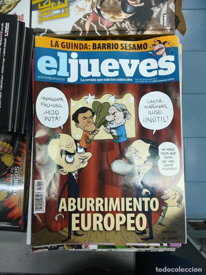 Tebeos: EL JUEVES - CASI 40 AÑOS DE LA REVISTA - 2022 NUMEROS (DEL 1 A 2059 - FALTAN 37 INTERCALADOS) - Foto 88 - 103441187