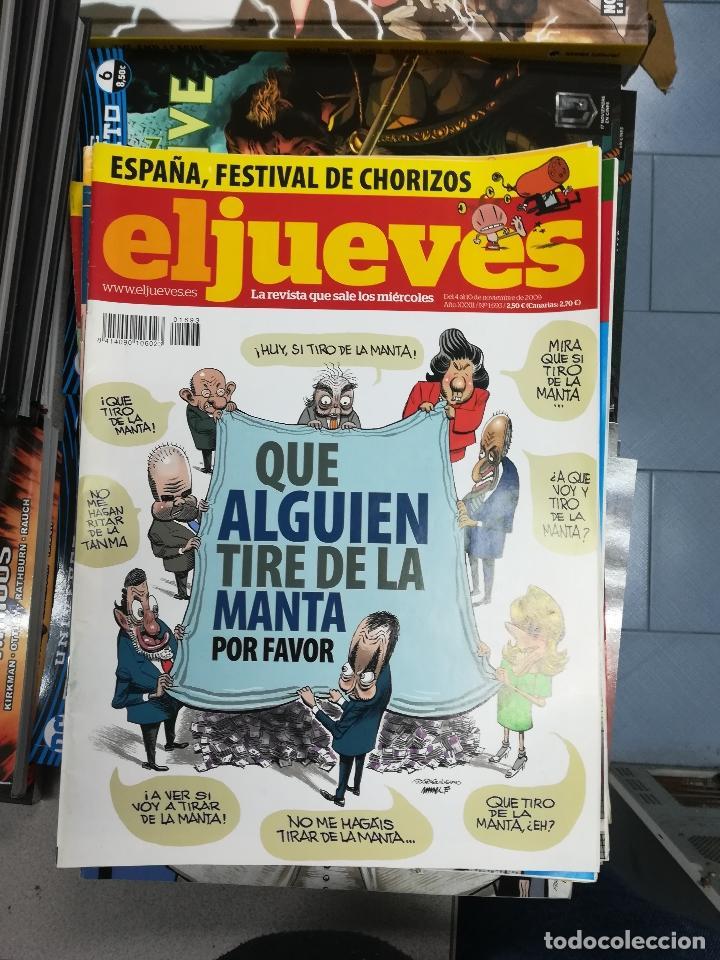 Tebeos: EL JUEVES - CASI 40 AÑOS DE LA REVISTA - 2022 NUMEROS (DEL 1 A 2059 - FALTAN 37 INTERCALADOS) - Foto 90 - 103441187