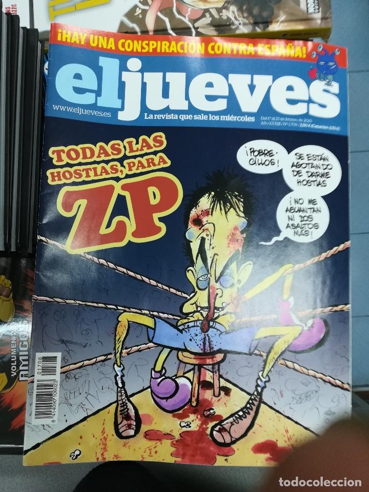 Tebeos: EL JUEVES - CASI 40 AÑOS DE LA REVISTA - 2022 NUMEROS (DEL 1 A 2059 - FALTAN 37 INTERCALADOS) - Foto 91 - 103441187